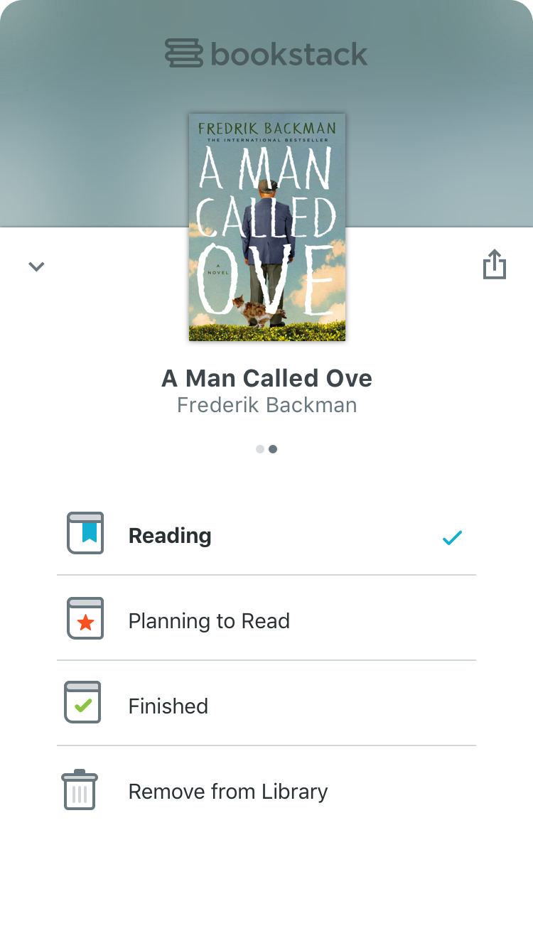 Preview Screen of Bookstack App